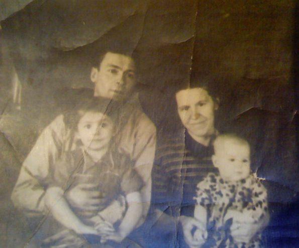 famille russe soviétique