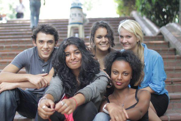 Etudiants ambassadeurs qui vivent à l'international